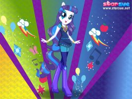 Equestria Girls Rarity As Radiance by unicornsmile