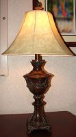 Bronze Colonial Victorian Lamp by FantasyStock