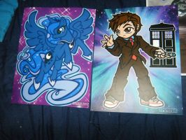 Chicago ComicCon Loot - Other David Print by InsaneSpyro