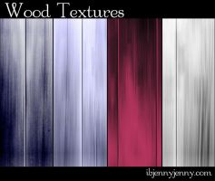 4 Free Colored Wood Textures by ibjennyjenny