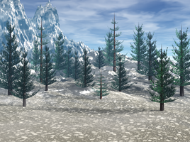 Winter Background by shd-stock