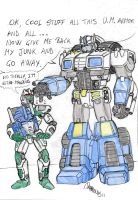 Ultra Magnus minimized!?!!? by danbrenus