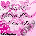 brushes gimp stars y heart by ButterflyEditions