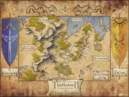 A Map of Thistledown by The-Urocyon