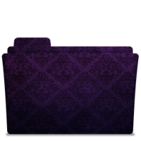 Folder-Icon Elegant Purple by TylerGemini
