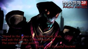 Mass Effect 3 From Ashes: Javik by MagnumMaster