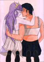 Ishiara and Ares 2 by ImyAnt