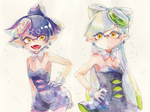 squid-sisters by MizoreAme