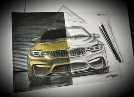 BMW M4 by 2fast-2catch