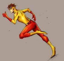 YJ : Kid Flash by eyekonoha