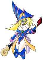 dark magician girl I color by N647
