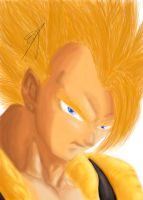 Gogeta - DBZ by shadowhunter144