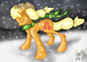 Bracing The Storm_Recolor by Downpourpony