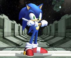 Sonic in Brawl is WIN by Masloff