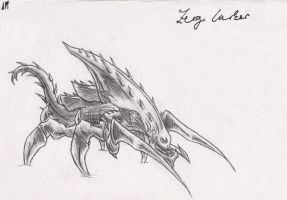 Zerg Lurker by Infernal-Feline
