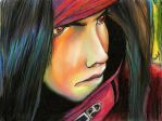 Vincent Valentine -color- by VIIIFireLordAxel