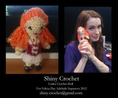 Codex Doll and Felicia Day by Scream-Deafening