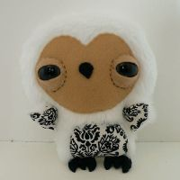 ME PLUSH YOU- Snowy owl by loveandasandwich