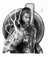 The avengers - Thor by reniervivas666