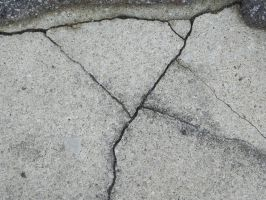 Cracked Concrete 01 by presterjohn1
