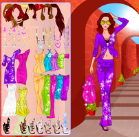 Holiday Fashion Dress up Game by willbeyou