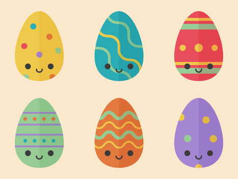 Cute Easter Eggs by apparate