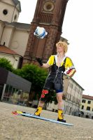 Tidus cosplay .:Blitzball Magic:. by Alexcloudsquall