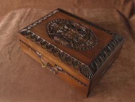 Big wooden box with lock by ZloverRU