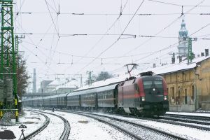 1116 222 with a special train in march, 2010 by morpheus880223