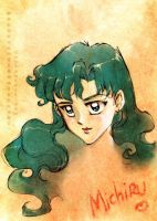 Ocean Goddess Michiru by unconventionalsenshi