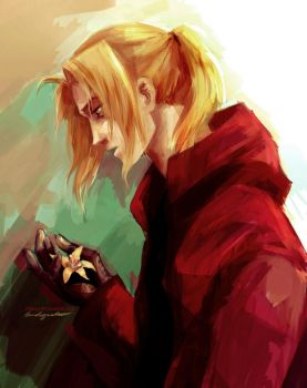 Edward Elric by viria13