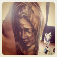 Religious fullsleeve mary by WildThingsTattoo