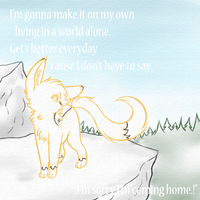 On my own by CrispyCh0colate