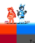 Jam and Alice by Tigerboy29