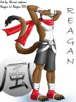 Reagan by 2-D-likespizza