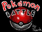 Pokemon battle Flipnote animation by Twarda8