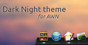 Dark Night AWN theme by Aeron-GT