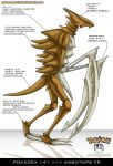 Pokedex 141 - Kabutops FR by Pokemon-FR