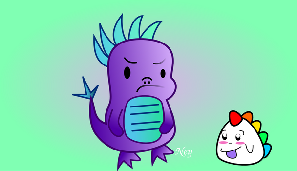 Dino and Bebo by Nehimy