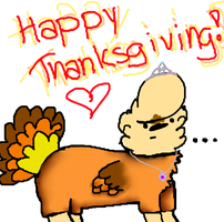 Happy Thanksgiving! by AnimatedSquirrel
