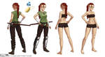Commission - Cherche character sheet by MLeth