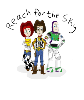 TS3 Reach for the sky by accordionpunk