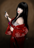 Girl with katana by Reiman76