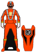 TRIAL - Go-On Orange Ranger Key by Zeltrax987