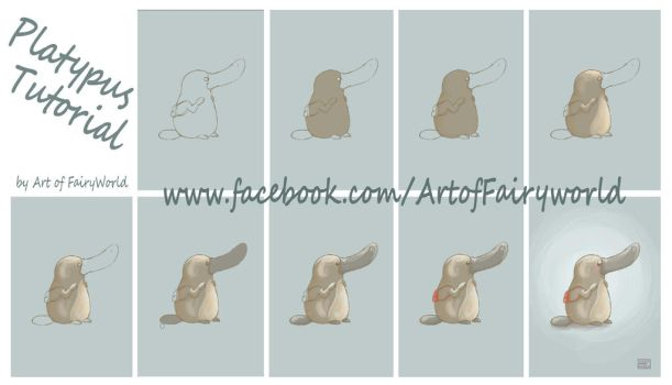 Poh The Platypus Tutorial Step by Step by FairyWorld84