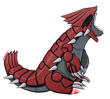 #384 Groudon by PuruPyonn