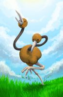Doduo - On a run by Kampfkewob