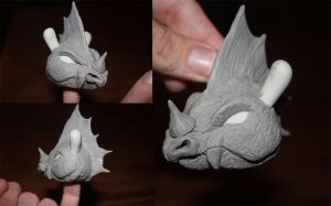 Dragon sculpt dunny by PatrickL