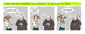 Tomb Raider Reborn Epilogue: A Butler is Born by risca-risca