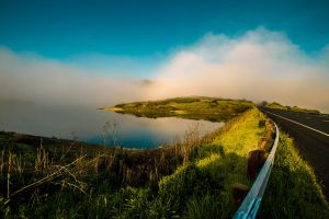 Early Morning Fog Reflection by 5isalive